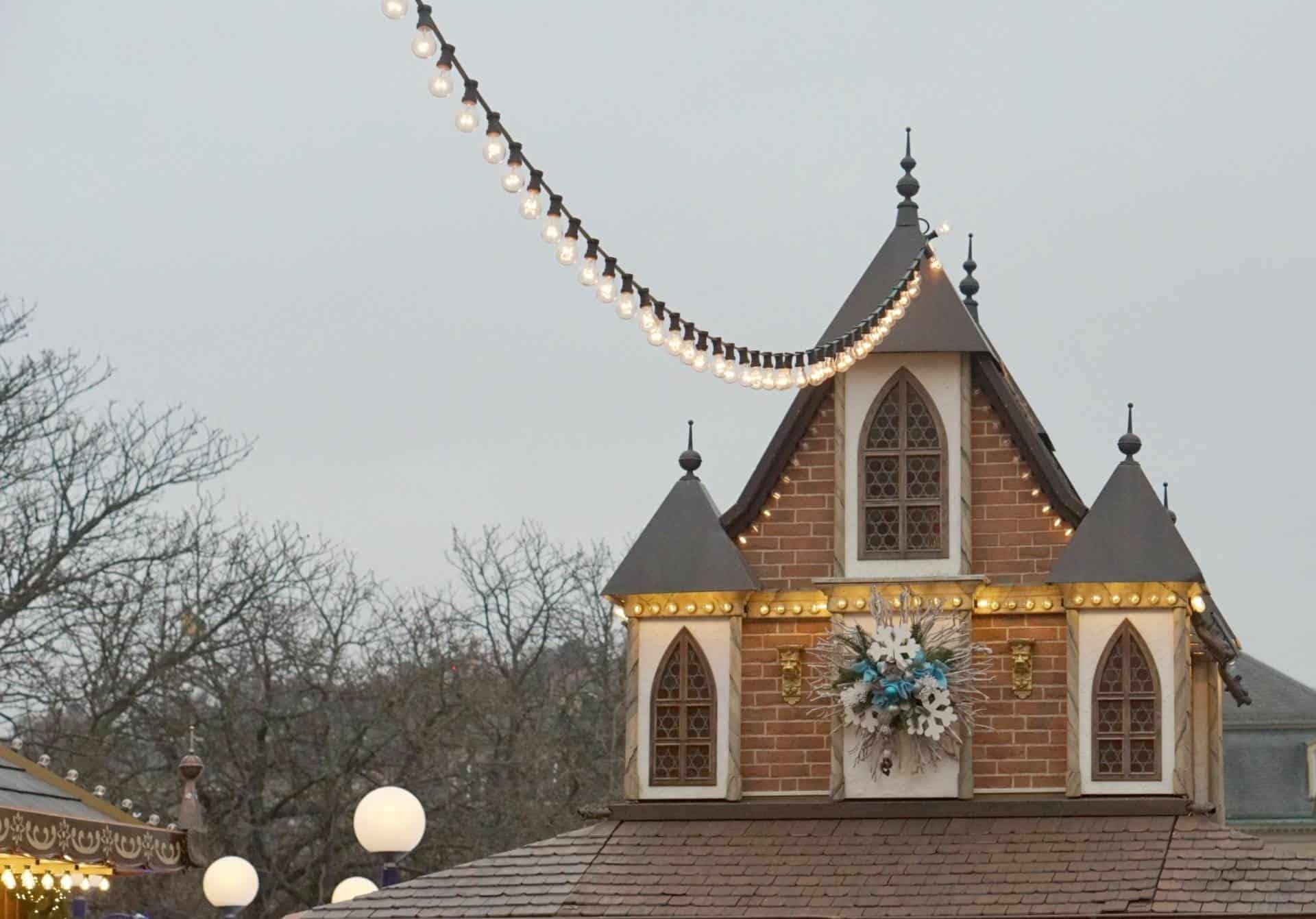Lights in a festive Market