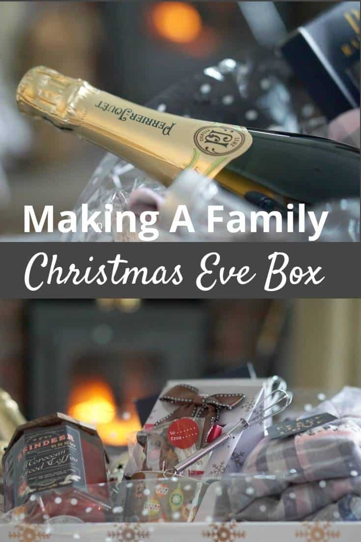 Making A Family Christmas Eve Box Full of goodie and treats for Chrstmas Eve