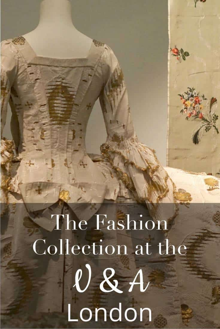The Fashion Collection At The Victoria And Albert Museum London And Garments Through The Ages