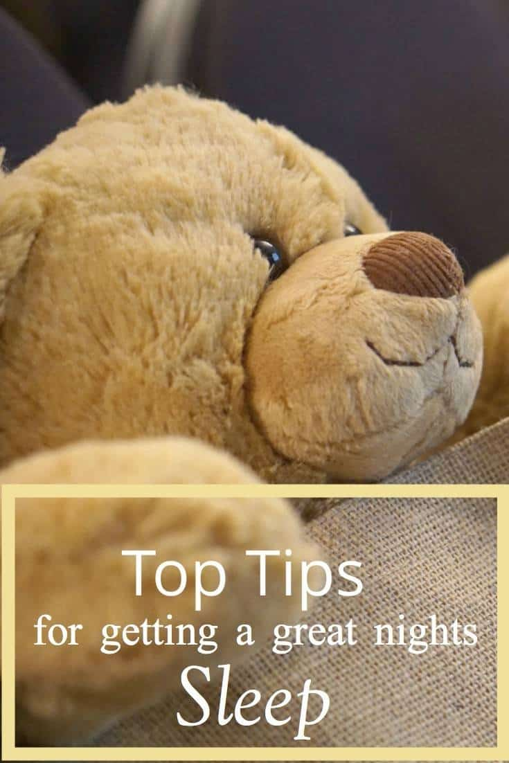 Top Tips For Getting A Great Nights Sleep, And What to do to help you relax to enable you to sleep on those nights you are struggling, with Tempur