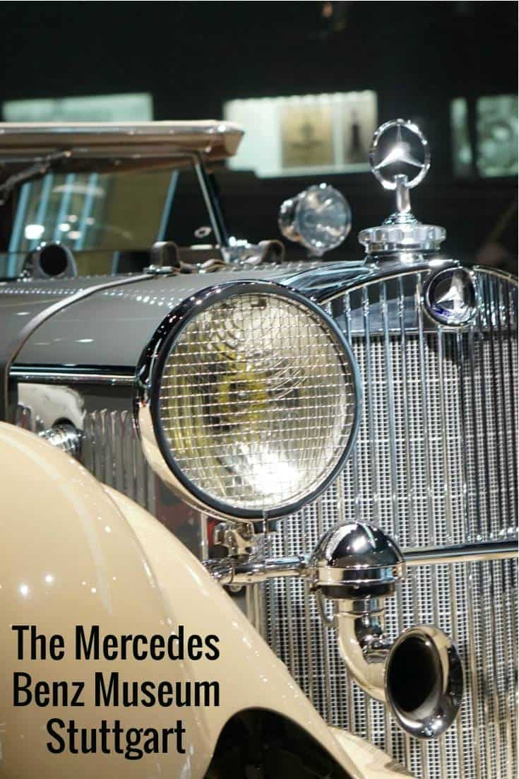 A look at some of the vintage cars at the The Mercedes Benz Museum Stuttgart, Germany and great family museum