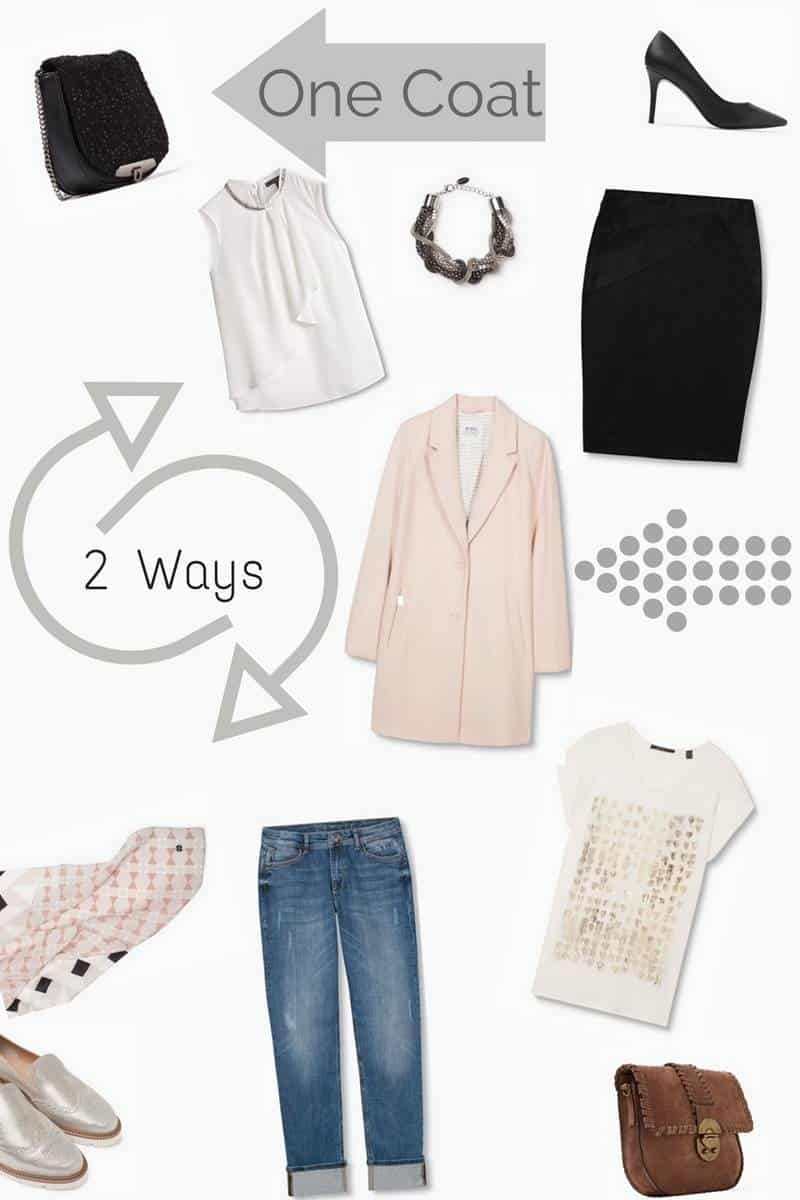 Spring Style, One Coat 2 Ways