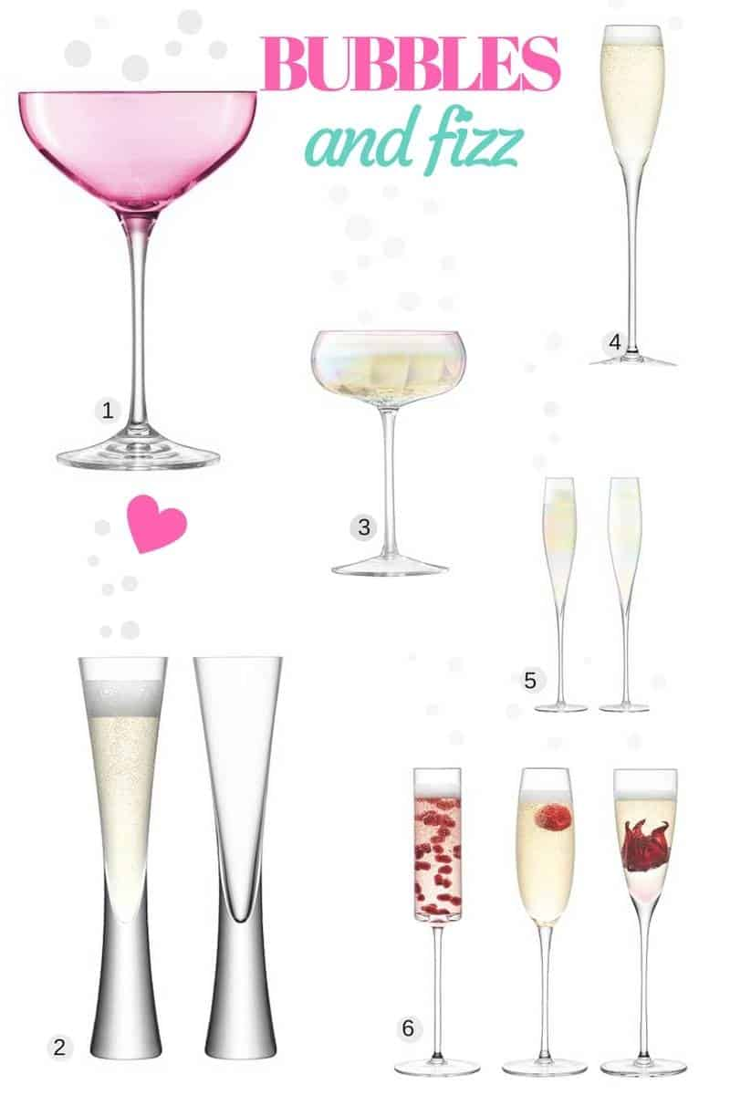 A Little Fizz Glass Wishlist