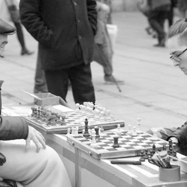 My Sunday Photo, A Chess Game In Germany