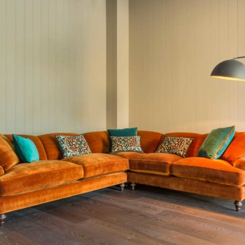 Sofa Trends And Velvety Jewel Tones