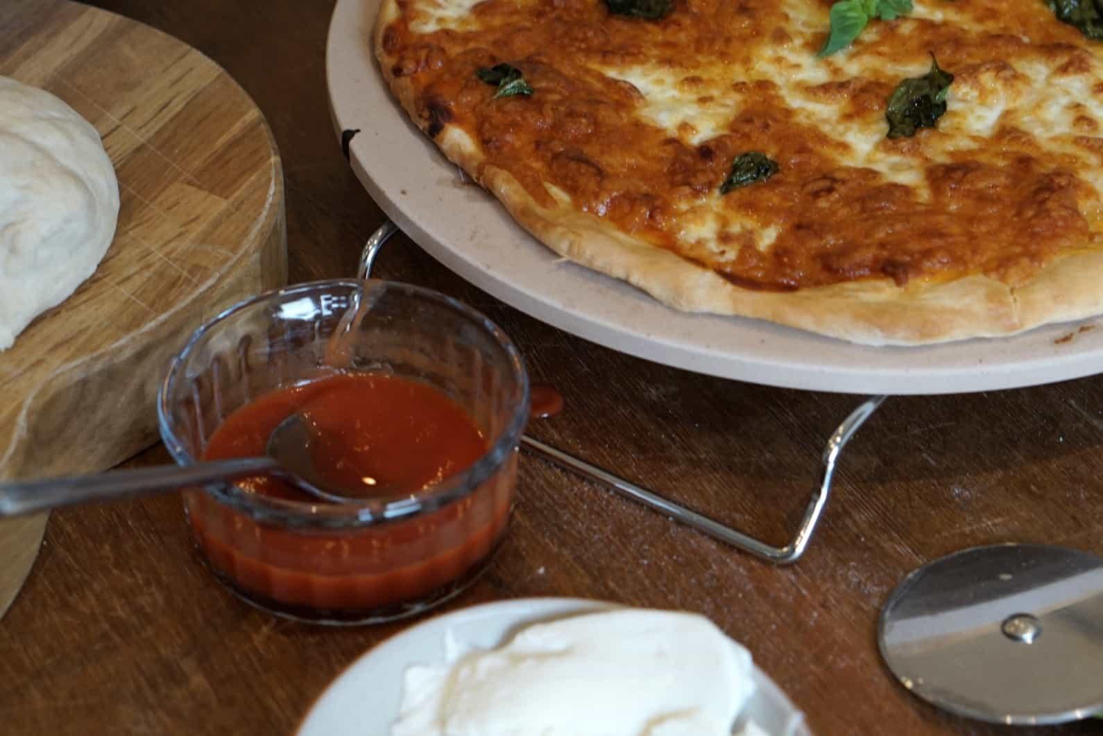 Easy Home Made Pizza Recipe