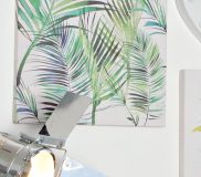 Summer Thornton – Palm Leaves Canvas