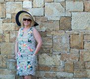 ELAYNA SLEEVELESS SHIFT DRESS