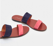 FENTHORPE LEATHER TWO BAND SANDALS