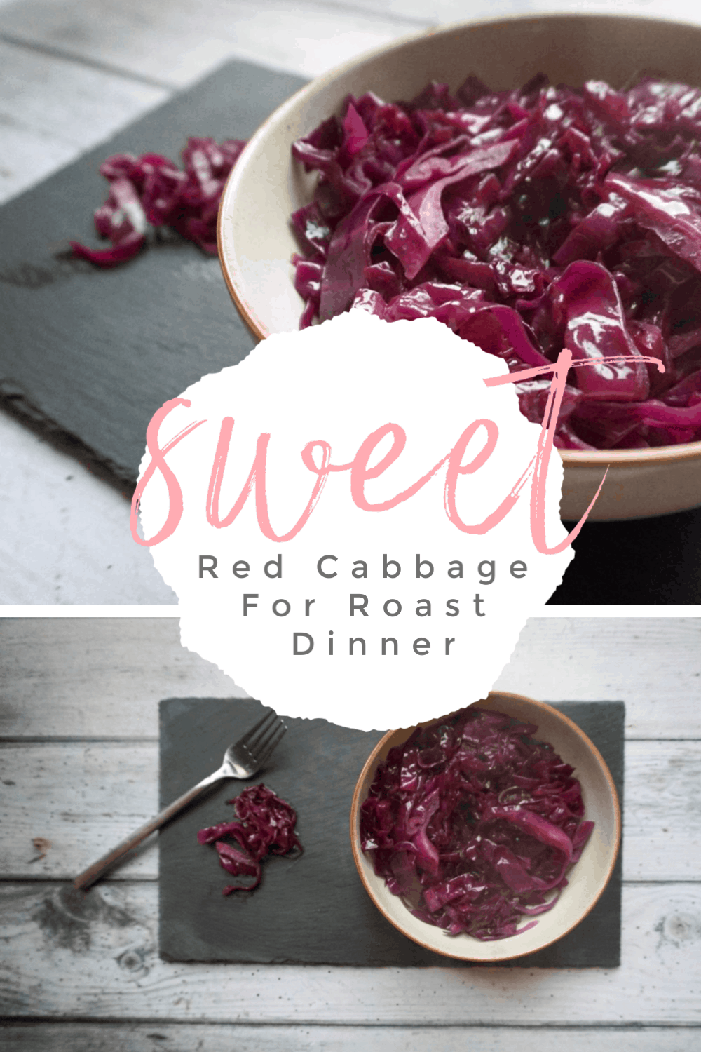 How To Make Red Cabbage For Roast Dinner #Sweetredcabbage #vegetablesforroastdinner #redcabbage #Roastdinner