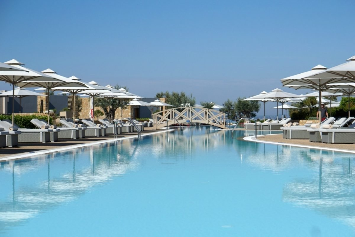A Perfect Family Holiday At Ikos Olivia, Part One