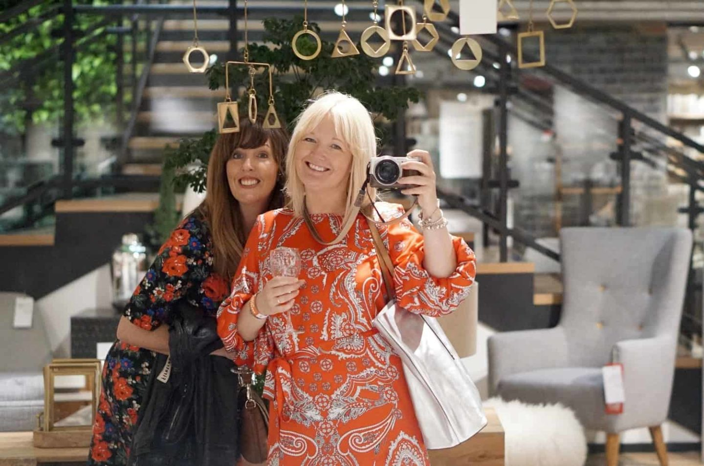 The Blogtacular West Elm Party, And River Island Summer Dresses