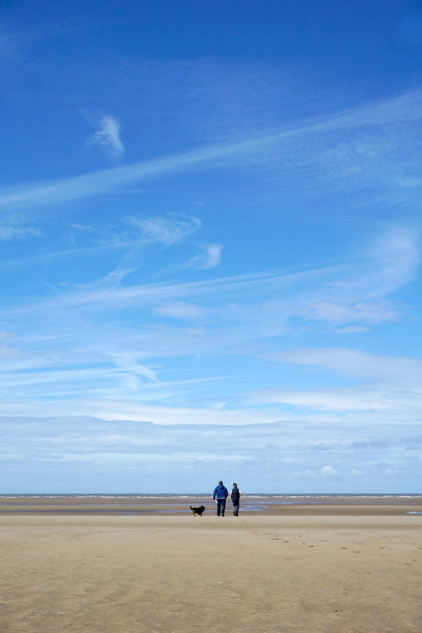 A Sunday walk on the beach At St Annes www.extraordinarychaos.com