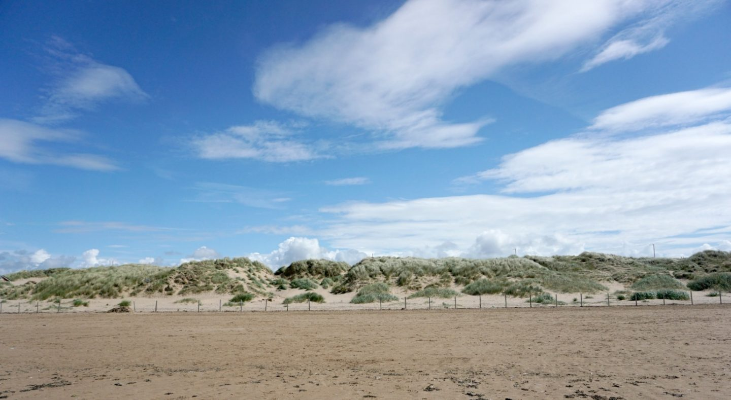 A view of the The Sand Dunes At St Annes www.extraordinarychaos.com