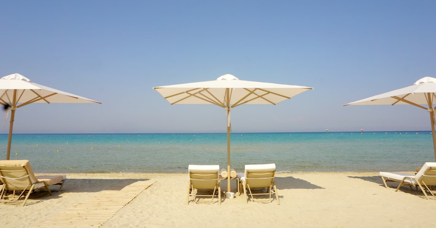 Greece and a look at Sani Dunes and Ikos Resorts