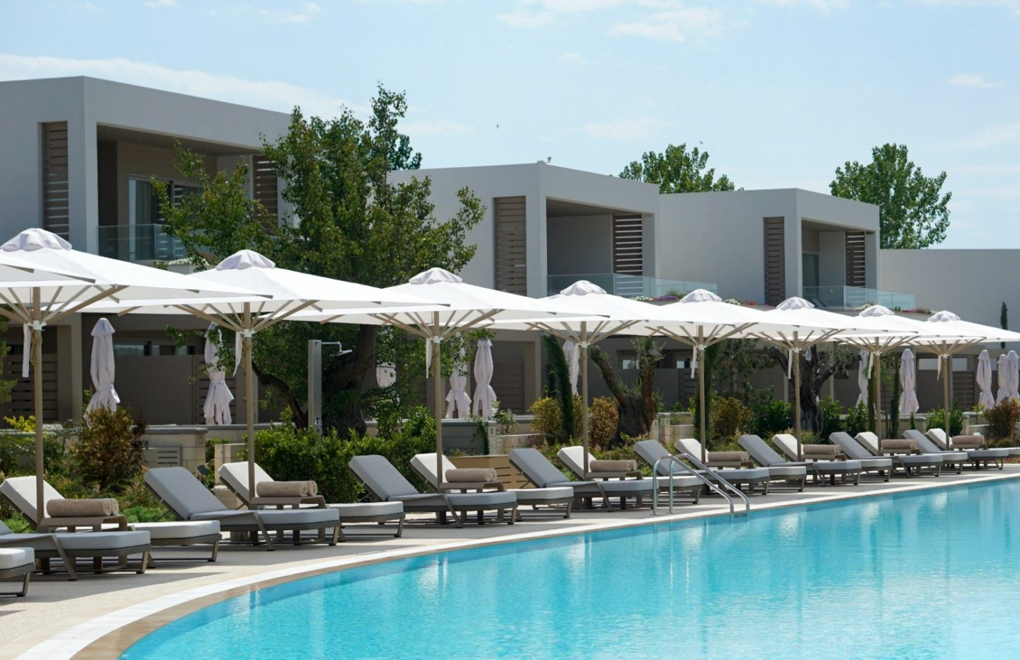 Beautiful Pool Area At Sani Dunes Greece