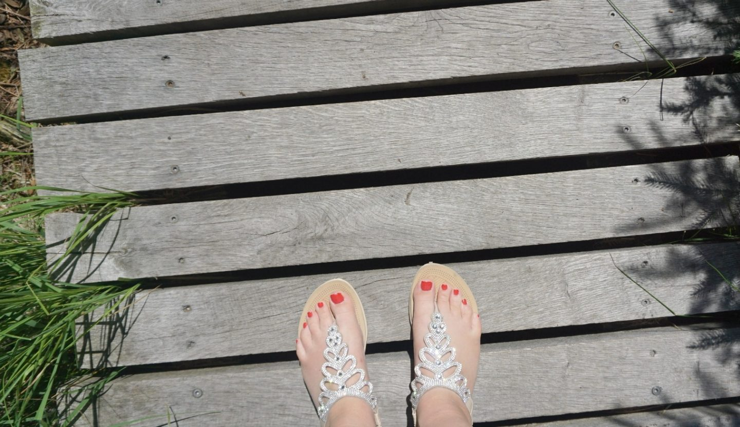 Wearing my Quiz Sandals at the Black Forest Germany a fun week, extraordinarychaos.com