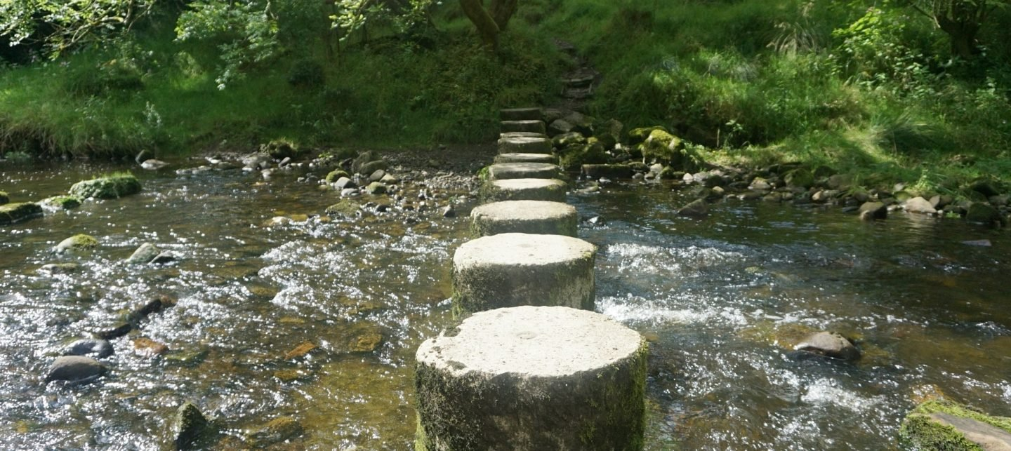 Stepping Stones in Roughlee www.extraordinarychaos.com