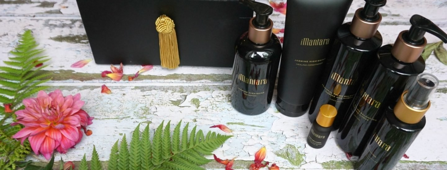 Imantara spa products with jasmine www.extraordinarychaos.com