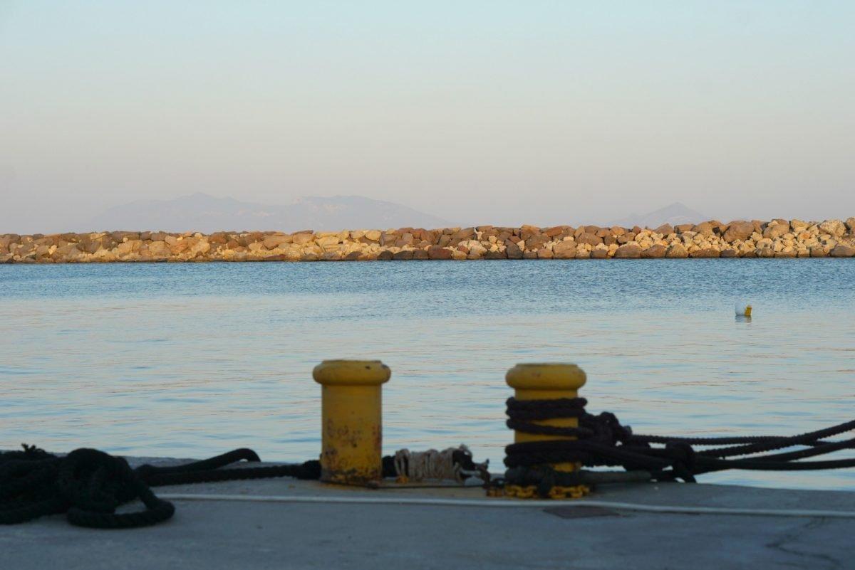 Sunset at Kardamena Port