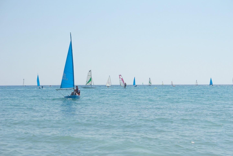 Teenagers sailing at Mark Warner Lakitira www.extraordinarychaos.com