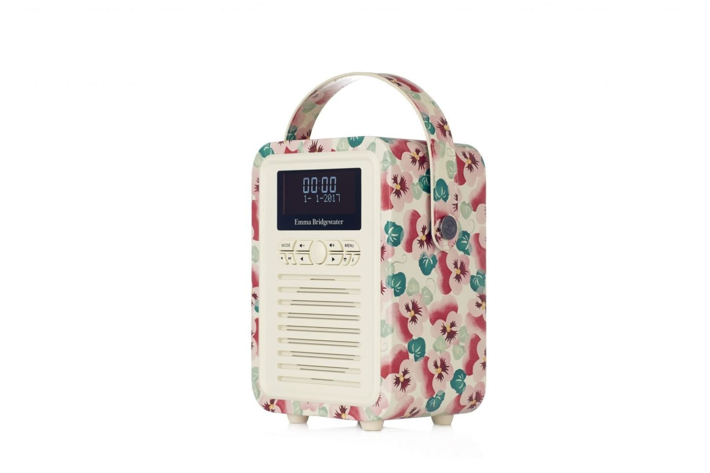 512644 Emma Bridgewater Retro Mini Portable DABFM Radio and Bluetooth Sp...-2
