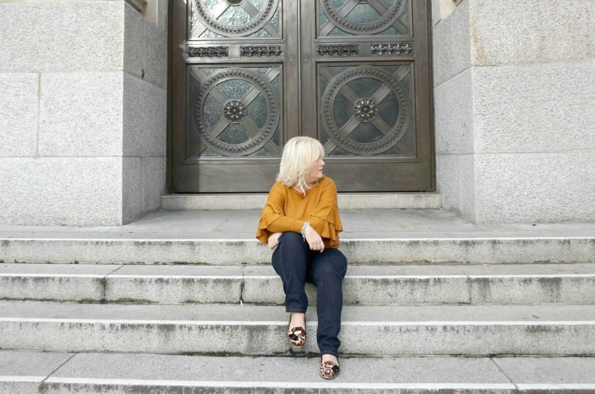 My weekly rounds up a mustard sweater from sainsburrys www.extraordinarychaos.com