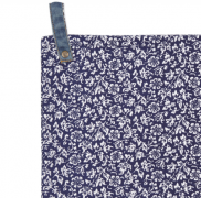 Sweet Alyssum tea towel