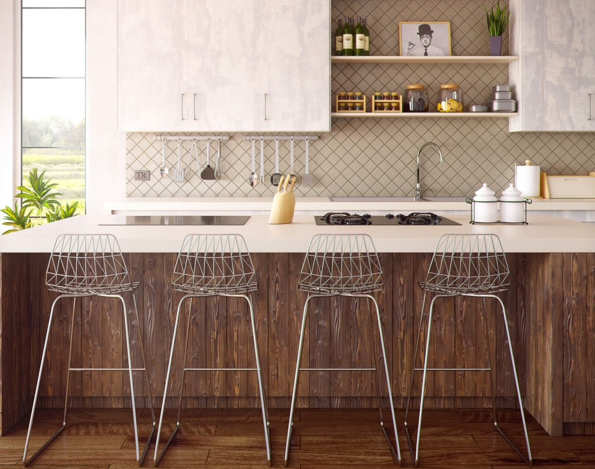 wooden kitchen floors to suit your kitchen www.extraordinarychaos.com