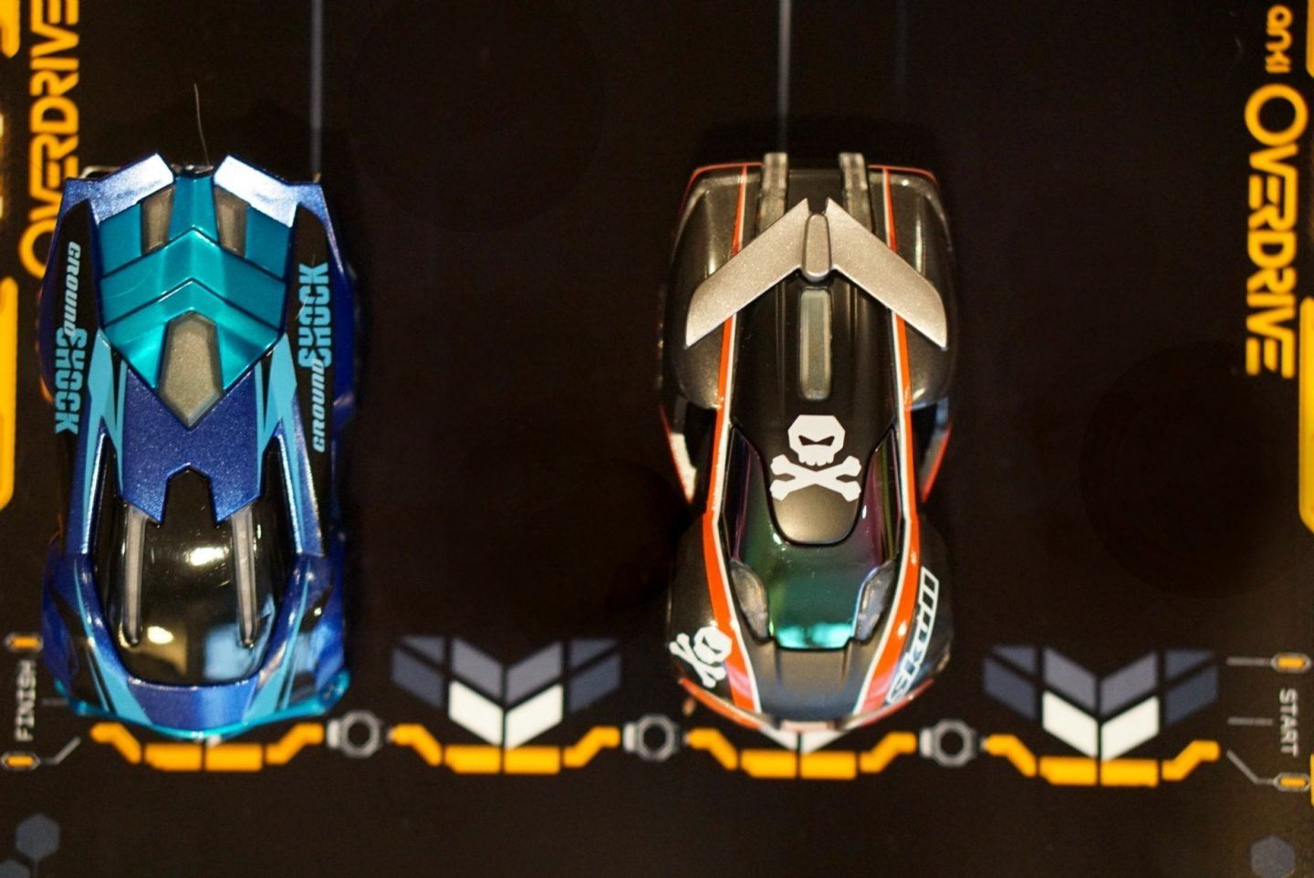 Anki Overdrive Review of this fab intereactive driving game