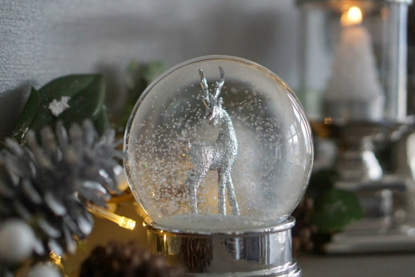 Snow Globe from Laura Ashely www.extraordinarychaos.com