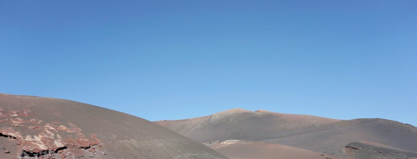 The Volcanoes at Timanfya National Park Lanzarote