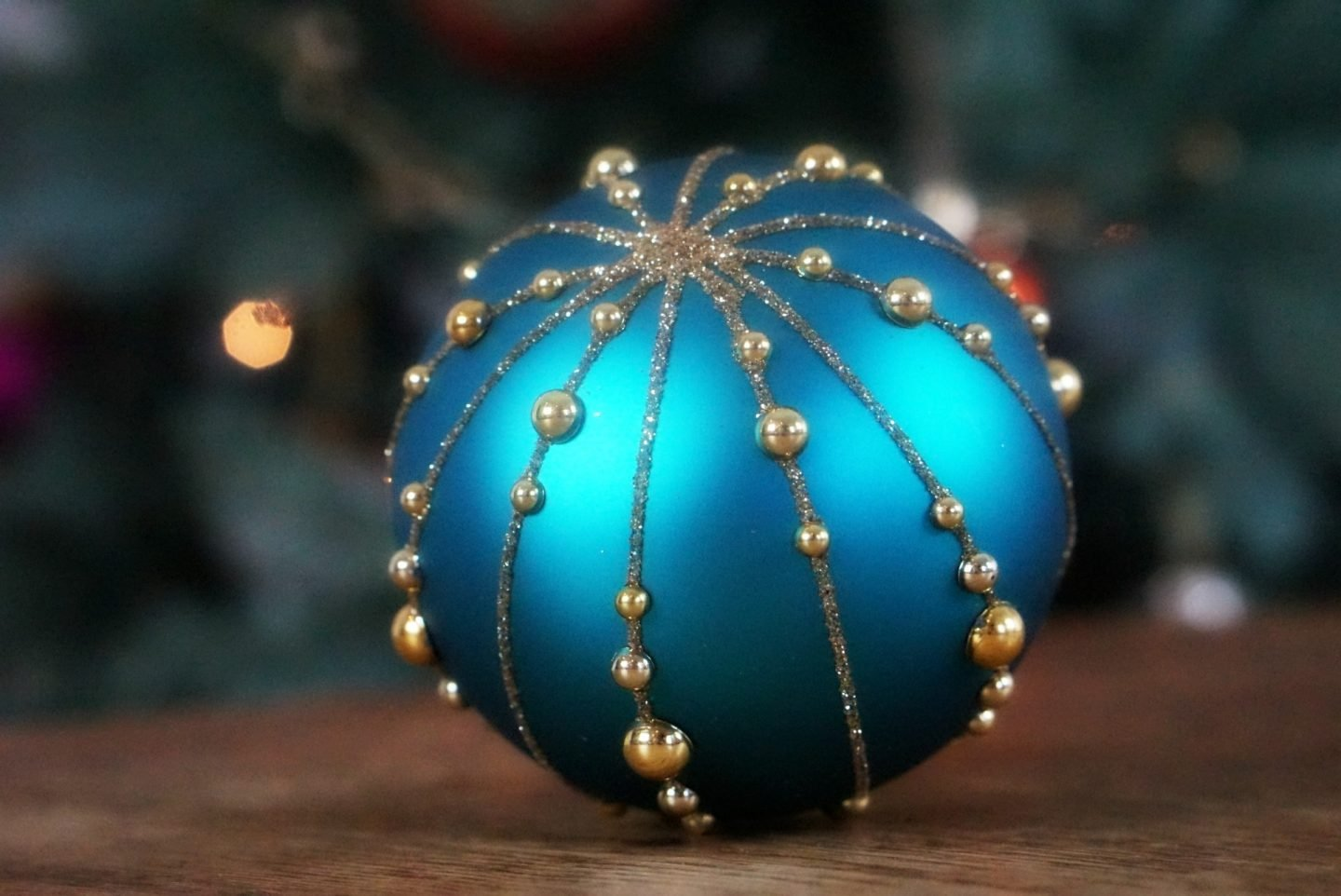 Blue Maharaja Christmas Decorations www.extraordinarychaos.con