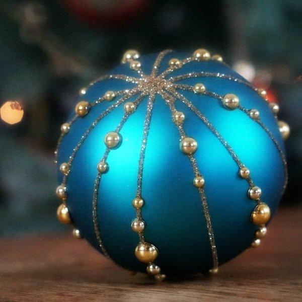 Blue Maharaja Christmas Decorations www.extraordinarychaos.con
