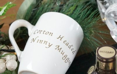 Boozy Hot Chocolate And Marshmallows In A Personalised Mug