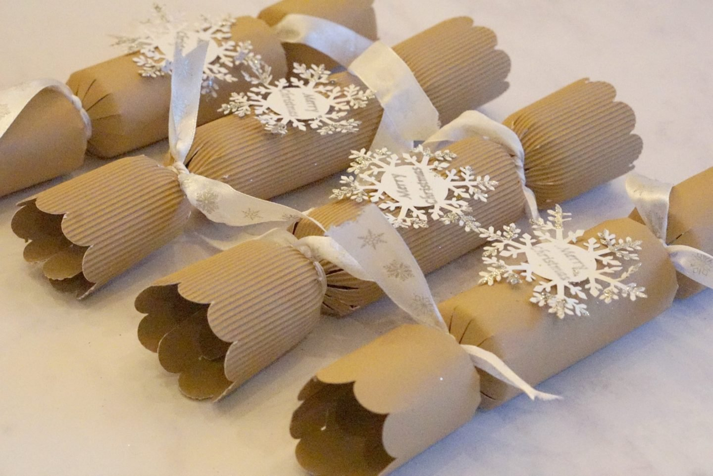 Easy Christmas Cracker Template