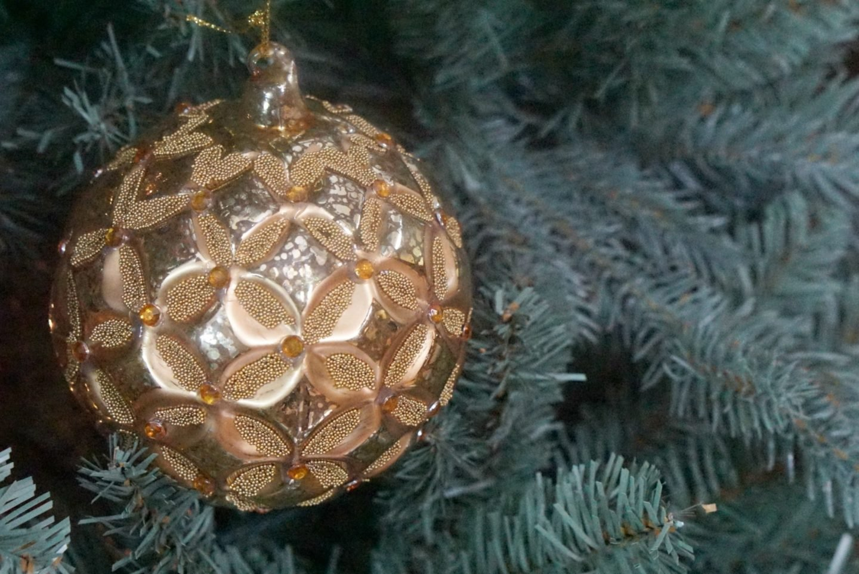 Gold John Lewis Maharaja Christmas Decorations www.extraordinarychaos.con
