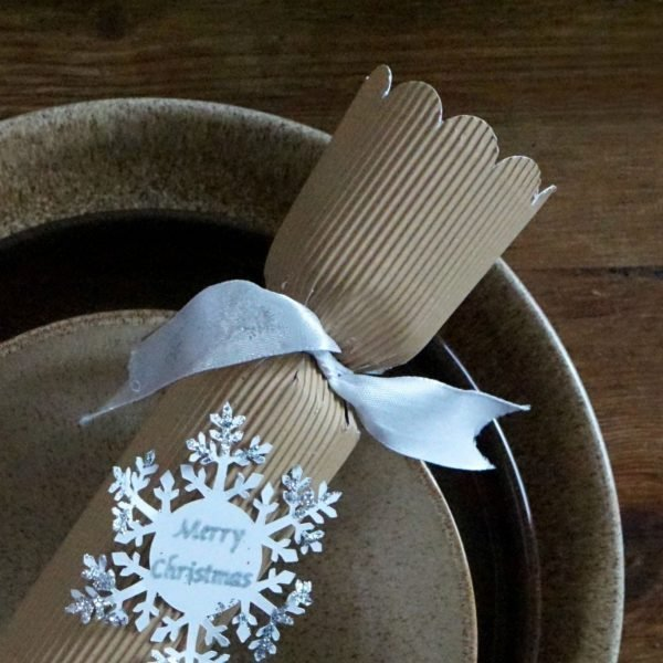Preparing A Rustic Festive Dinner Table With Denby