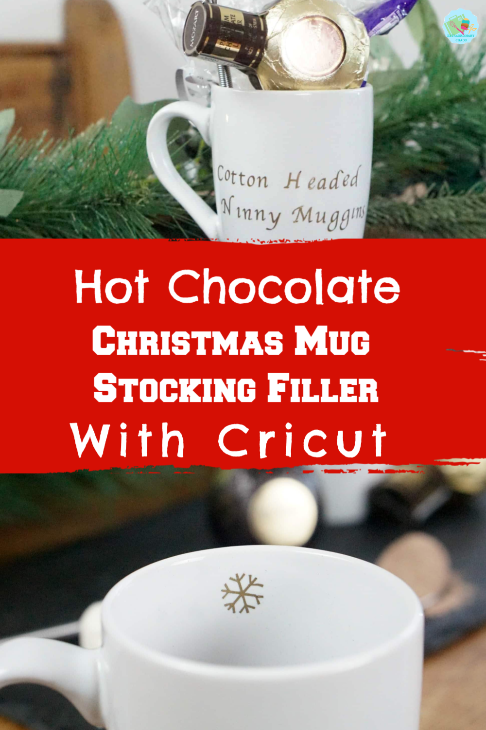 A Personalised Hot Chocolate Mug Gift Idea Extraordinary Chaos