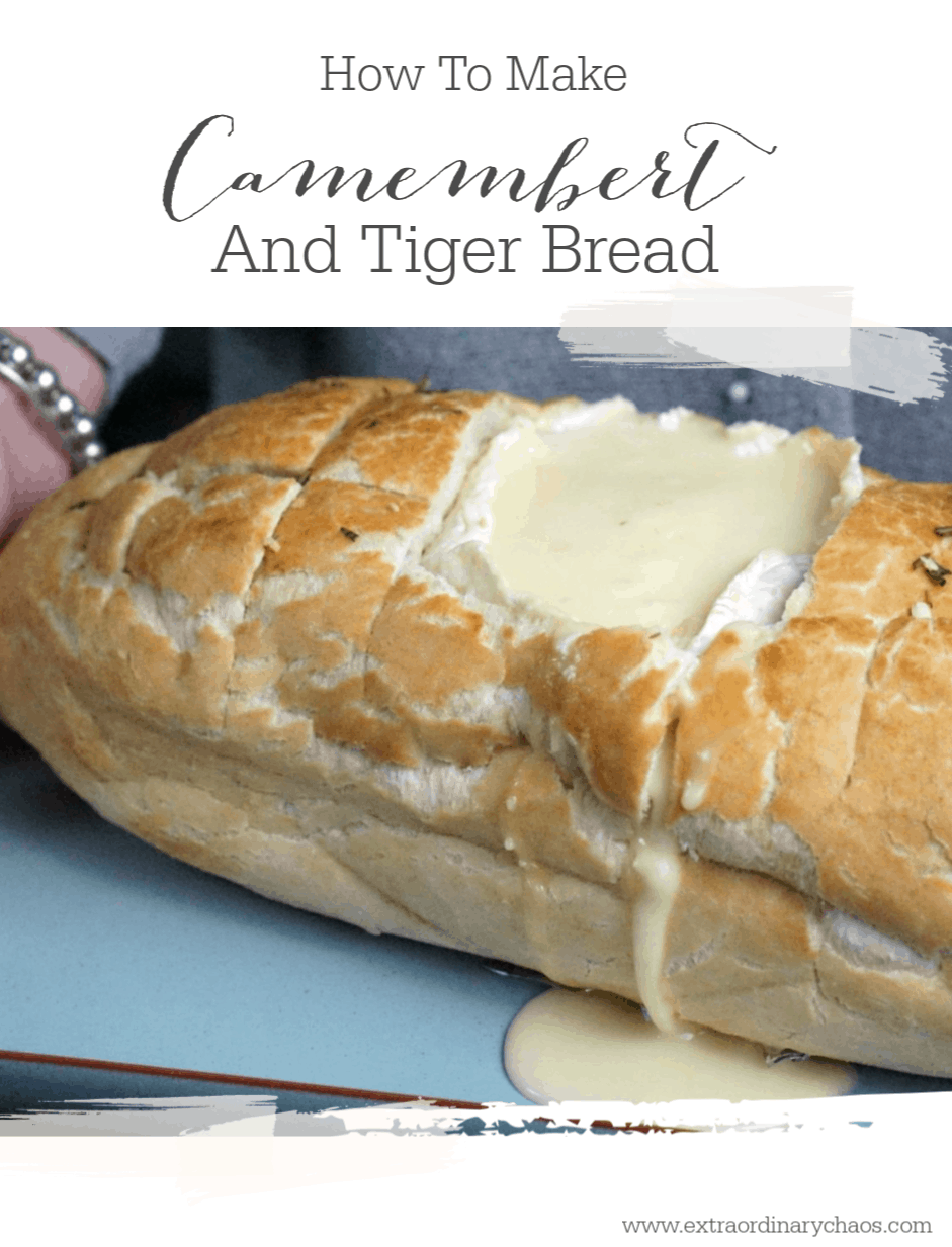 Pull Apart Camembert and Tiger Bread Recipe