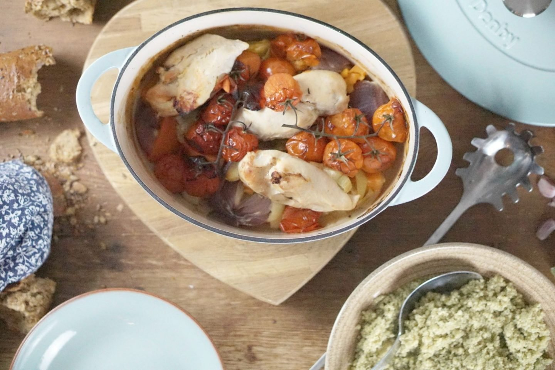 Heathy chicken and vegetables