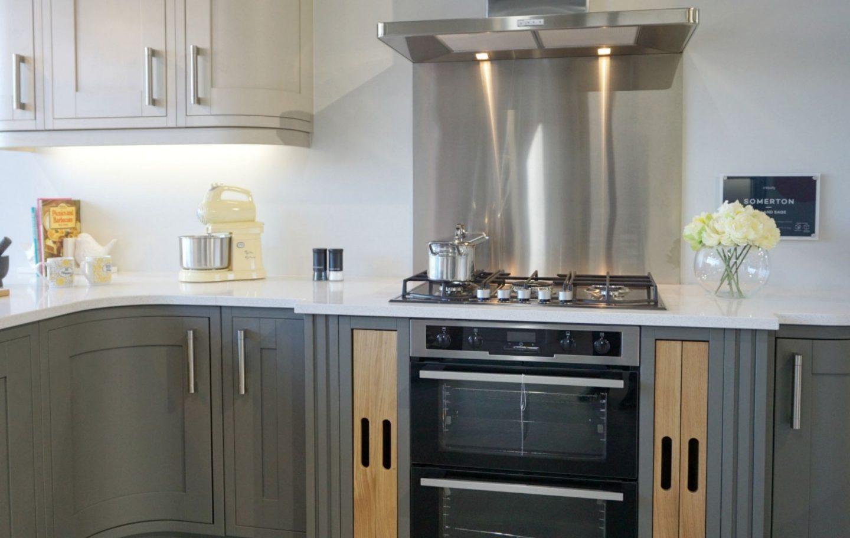 Somerton Grey Kitchen from Magnet www.extraordinarychoas.com