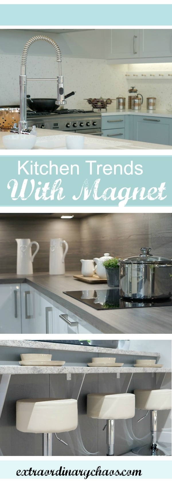 Thinking of a new kitchen or adding a kitchen Island, creating better storage. Then check out the Latest Kitchen Trends and Storage Solutions With Magnet.