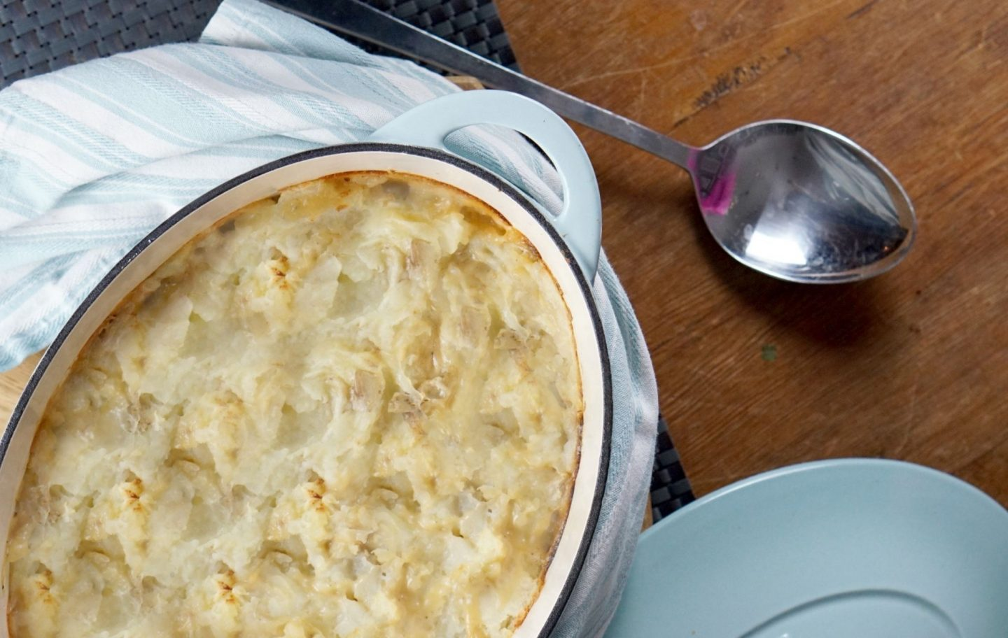 Chicken and Leeks pie a creamy  cheesy Bake