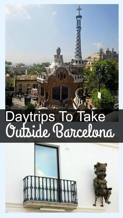 Day trips to take outside Barcelona, places you can visit a short drive away giving you the opportunity of exploring the Costa Barcelona Region with teenagers