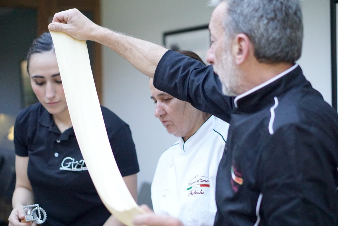 Making Home Made Pasta at an Italian Master Class www.extraordianrychaos.com