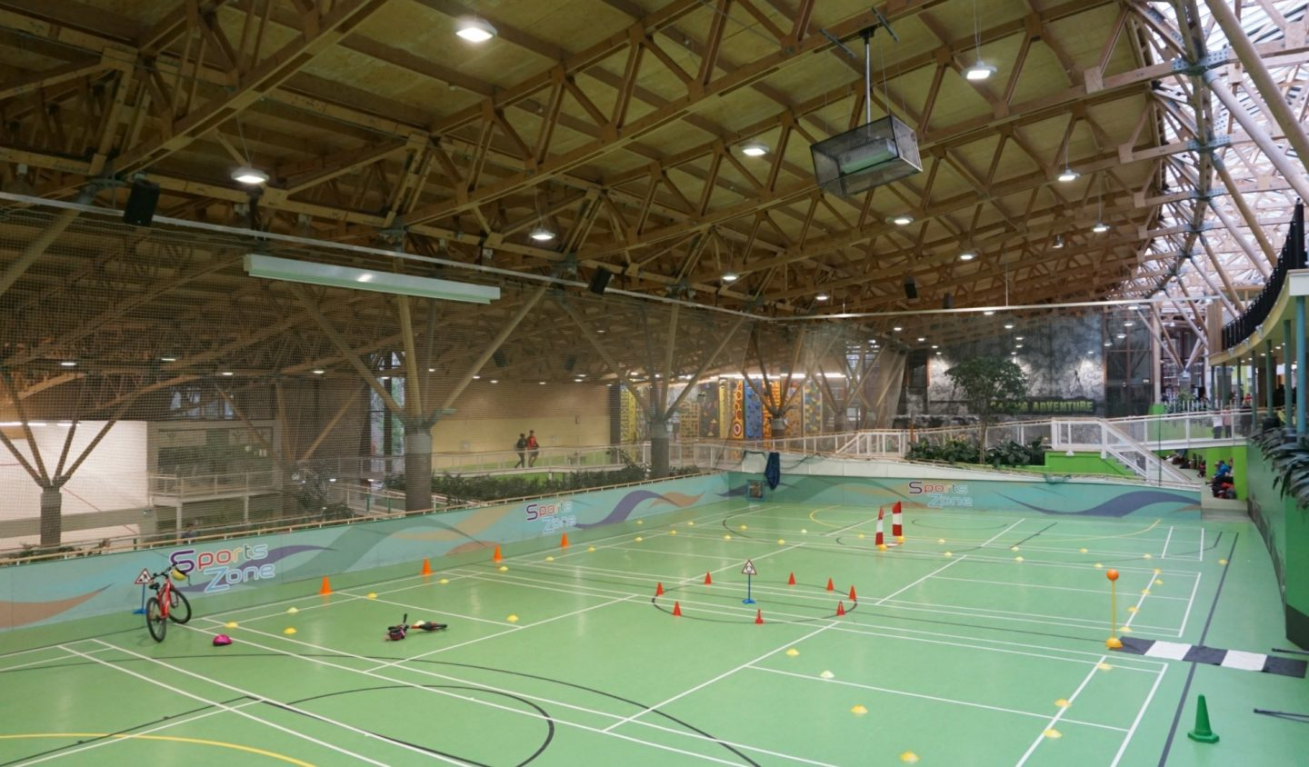Sports Plaza At Center Parcs Whinfell Forrest www.extraordinarychaos.com