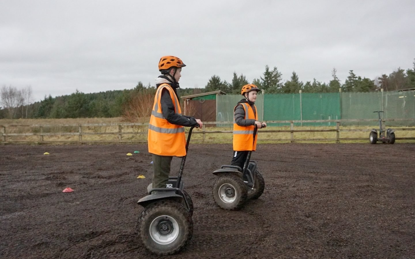 Teenagers and Segway at Centerparcs Whinfell Forrest ww.extraordinarychaos.com