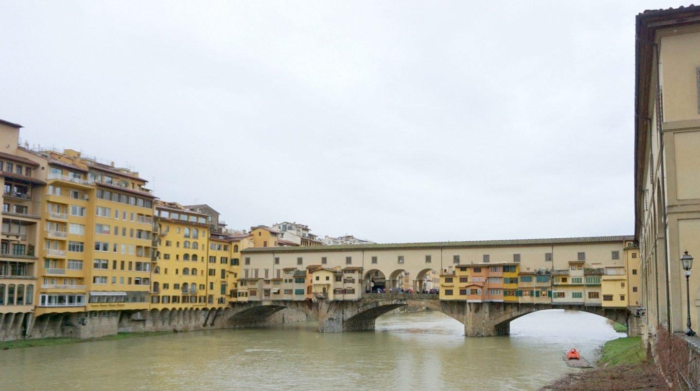 Ponte Vecchio Bridge in Florence www.extraordinarychaos.com