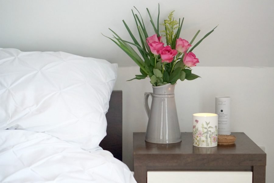 Springtime Bedding in White from Sainsburys www.extraordinarychaos.com